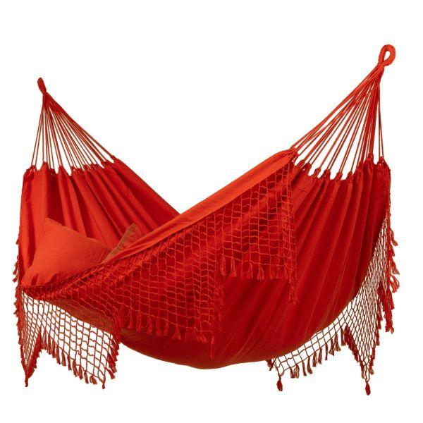 Fine Red Cama de Rede XXL