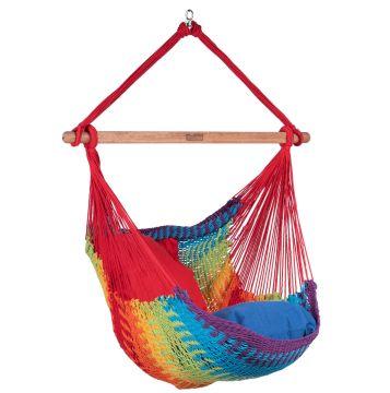 Mexico Rainbow Cadeira Suspensa para 1 pessoa