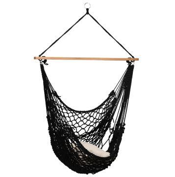 Rope Black Cadeira Suspensa para 1 pessoa