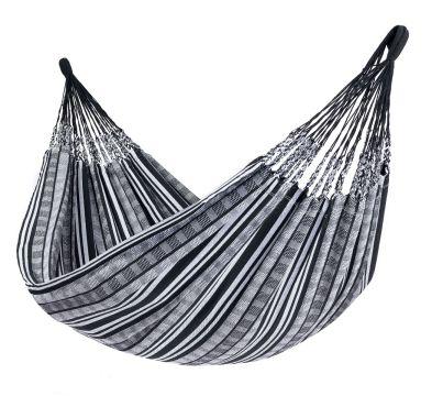 Comfort Black White Cama de Rede dupla